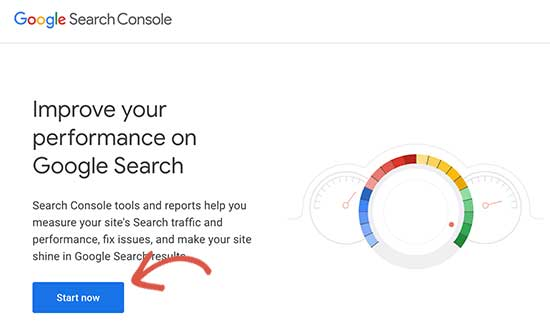 Google Search Console getting started