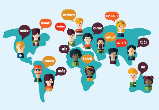 WordPress is available in 68+ languages