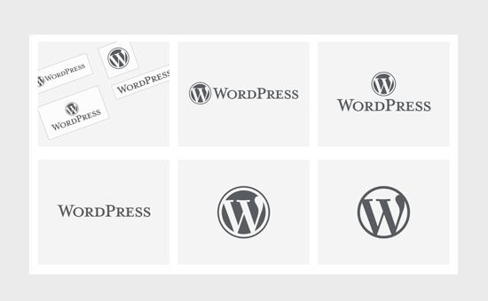 WordPress logo examples