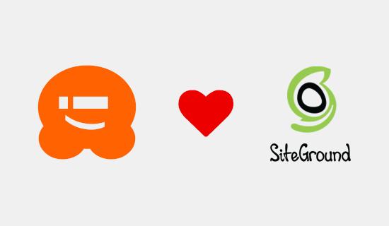 WPBeginner Loves SiteGround