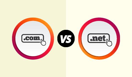 The .com vs .net domain extension