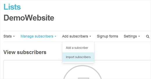 Import FeedBurner email subscribers to MailChimp