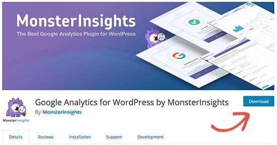 downloading a free WordPress plugin