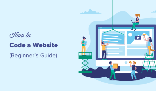 How to Code a Website (Beginner's Guide)