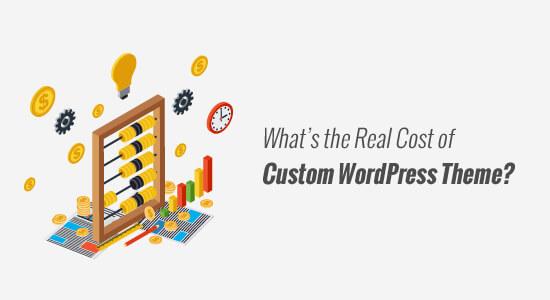 Cost of a Custom WordPress Theme