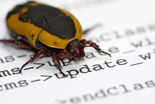 Older WordPress versions may have bugs