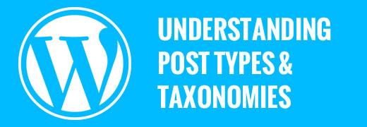Custom Post Types and Taxonomies