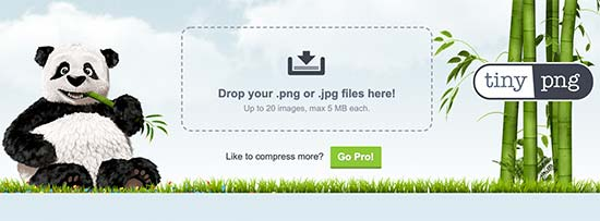Using TinyPNG to optimize images for WordPress
