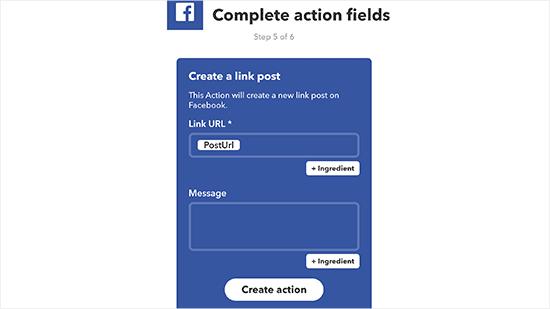 Facebook Fields
