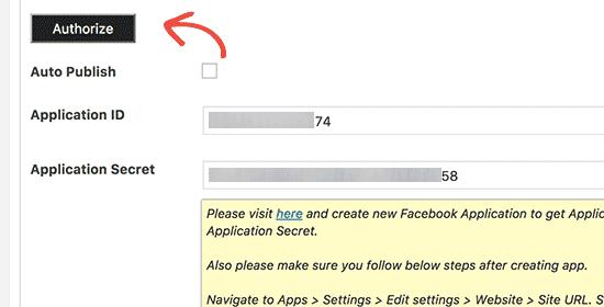 Authorize plugin