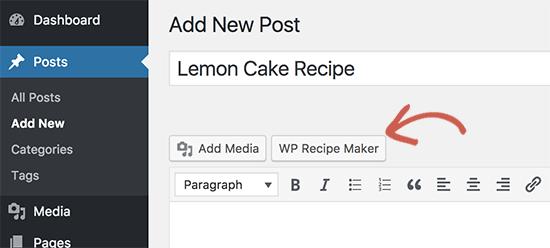 Launch recipe maker