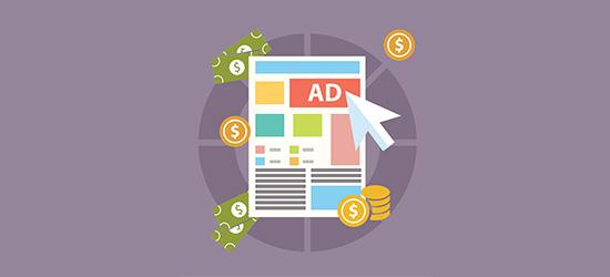 Display ads on your food blog