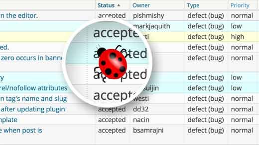Filing a bug report