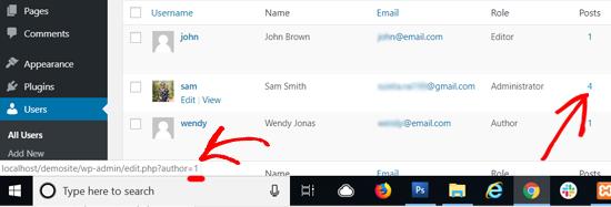 Your User Profile ID in WordPress
