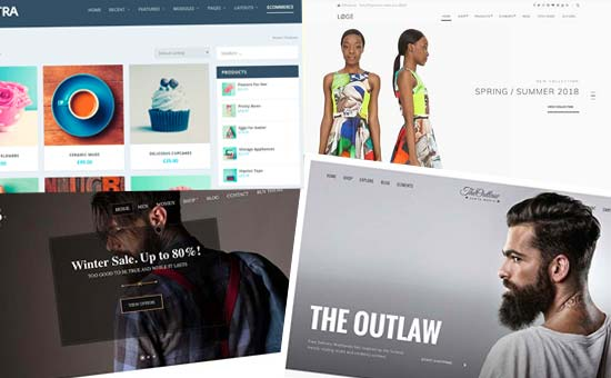 Choosing templates and design for your online store