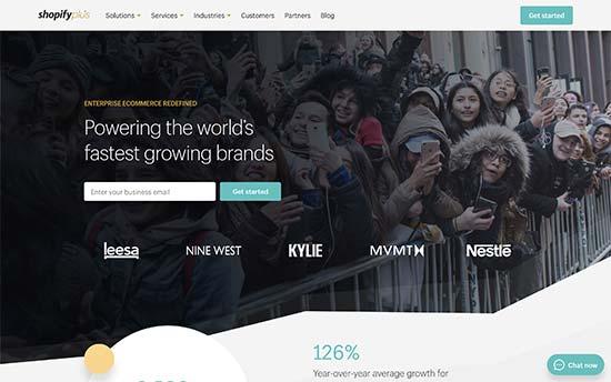 Shopify enterprise