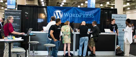 WordPress Booth Blogworld
