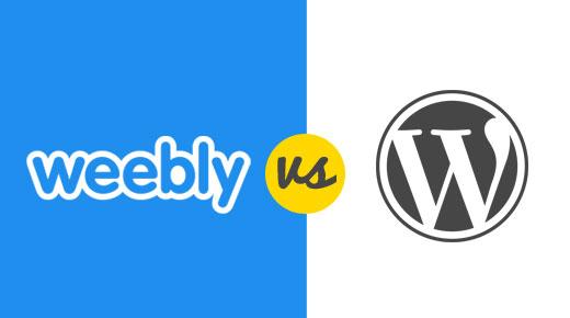 WordPress vs Weebly Comparison