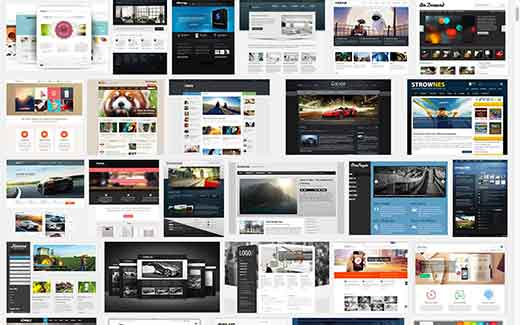 Thousands of WordPress Themes to Choose From