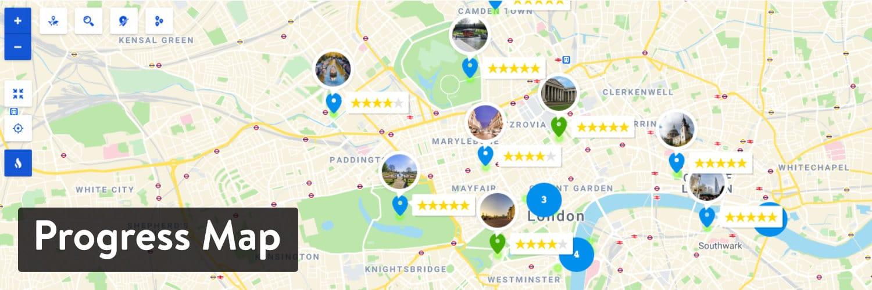 Progress Map plugin