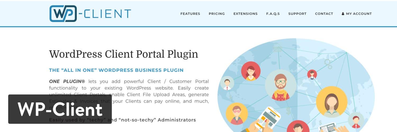 WP-Client WordPress plugin
