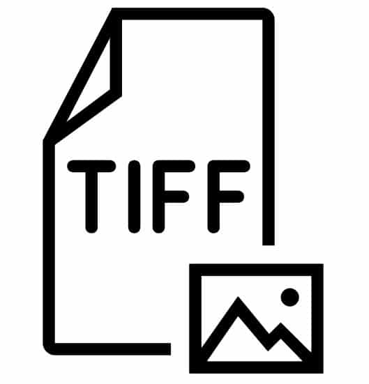 Image file types: tiff icon