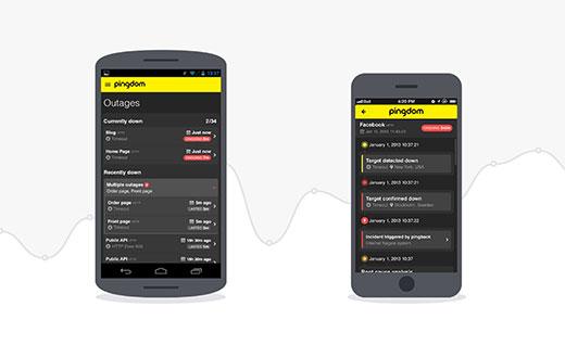 Pingdom app