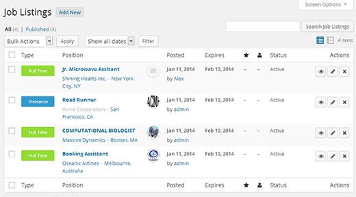 WordPress based job board