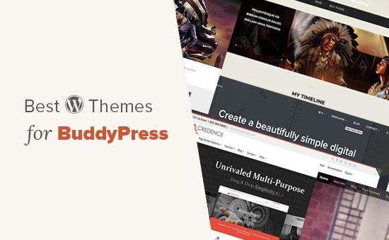 WordPress themes for BuddyPress