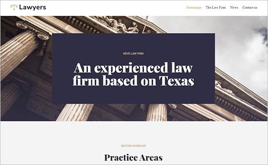 Neve Lawyers Theme