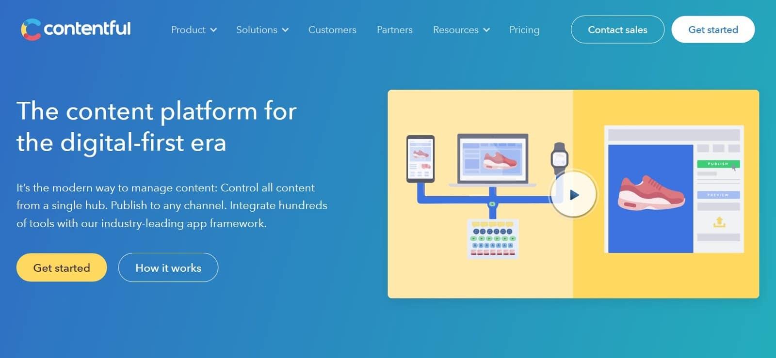 cms software 9 contentful