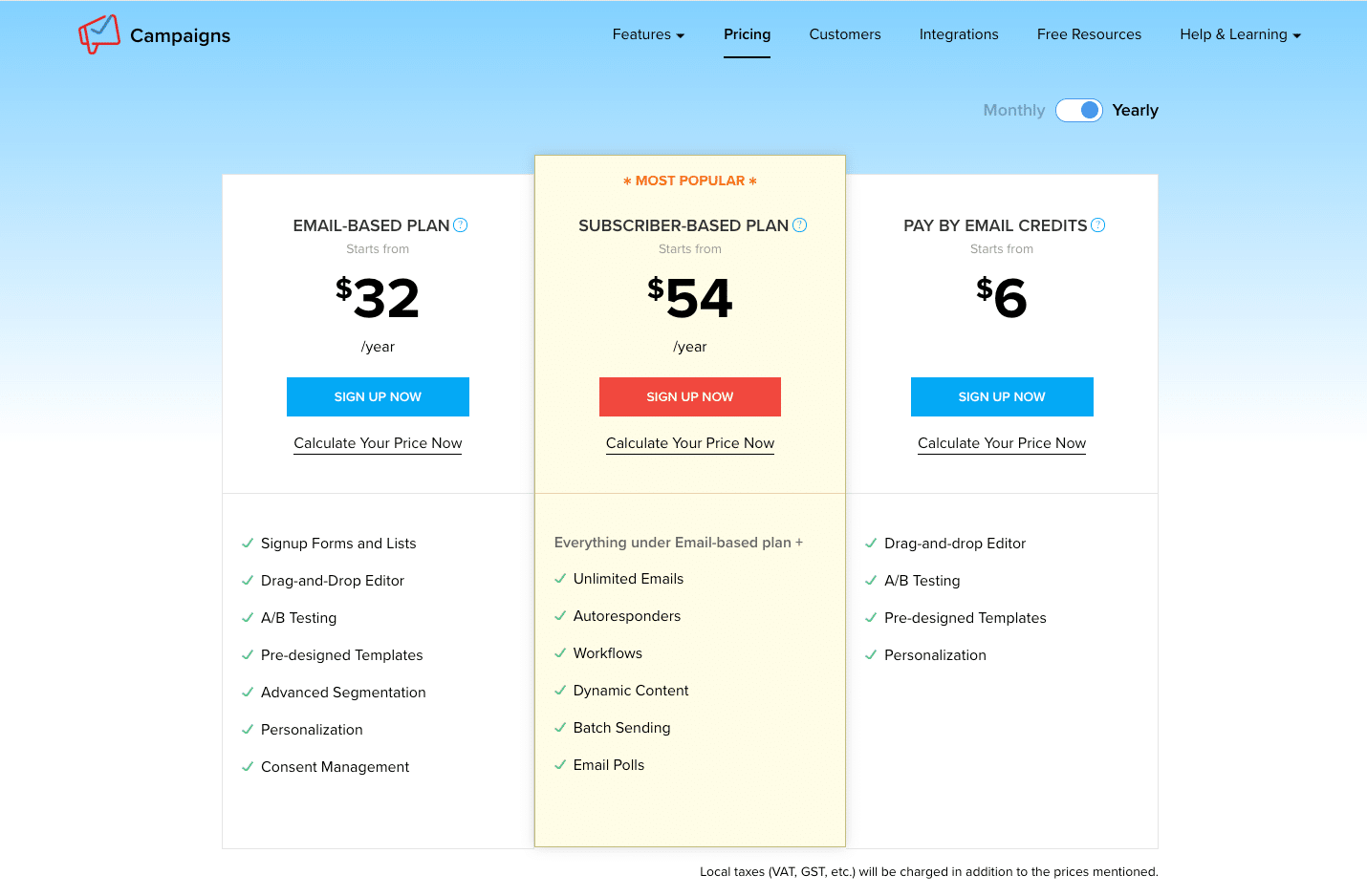 Zoho campaigns pricing
