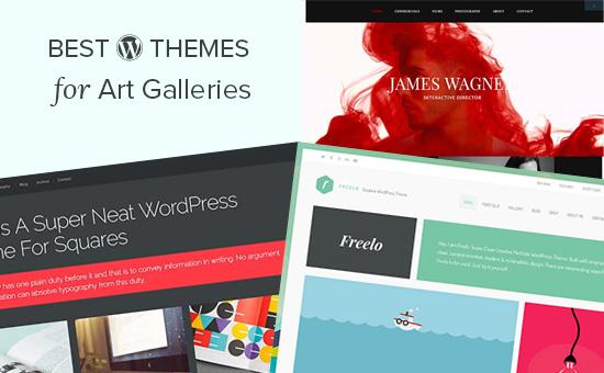 Best WordPress themes for art galleries