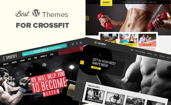 Best WordPress themes for crossfit