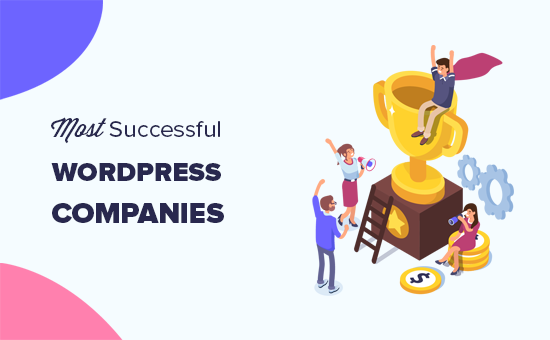 Most successful WordPress businesses and companies