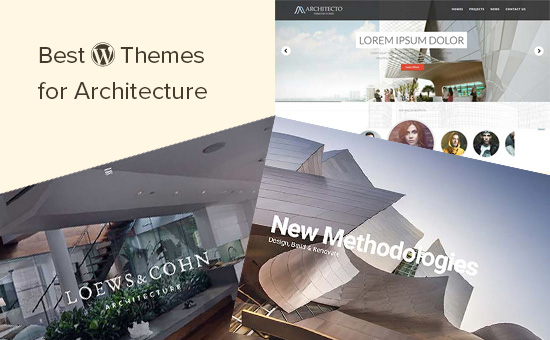 Best WordPress themes for architecture