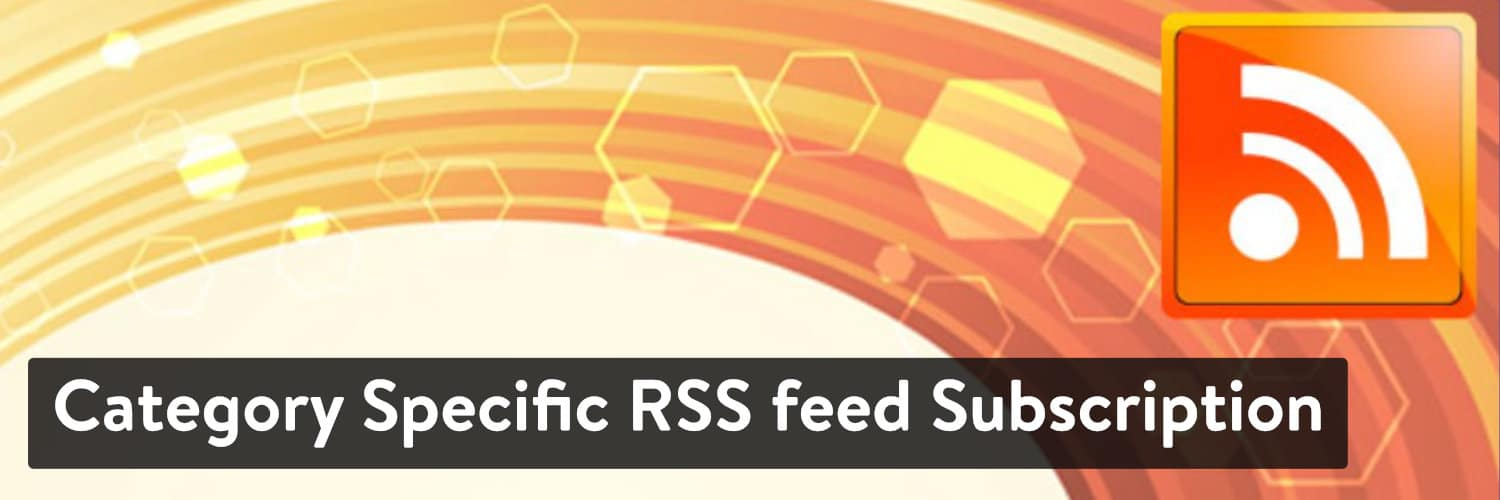 The Category-Specific RSS Feed Subscription WordPress plugin.