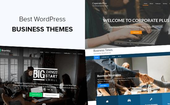 Best WordPress Business Themes