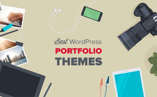 Best WordPress themes for portfolios