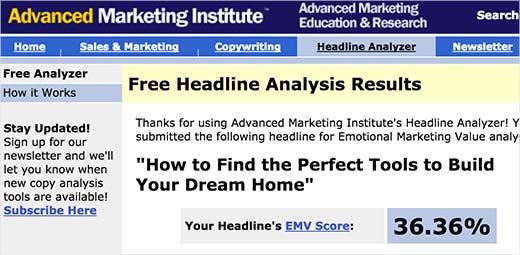 Emotional Marketing Value analysis