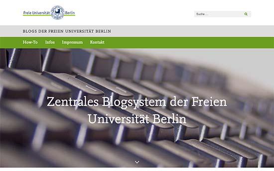 استفاده از وردپرس در دانشگاه برلین