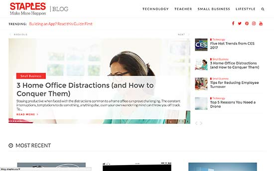 Staples Canada Blog