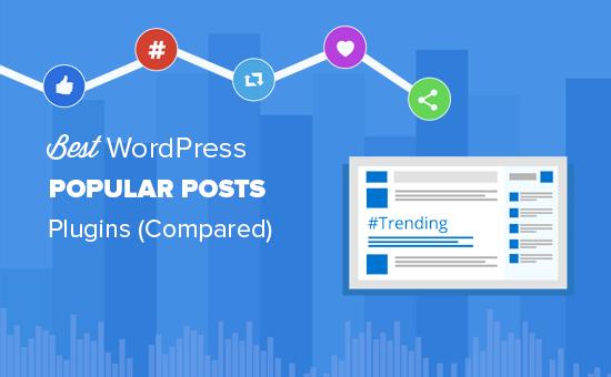 Best popular posts plugins for WordPress