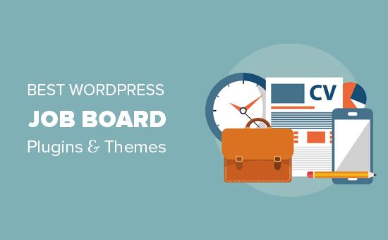 WordPress job board plugin and themes