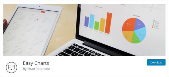Easy Charts data visualization plugin