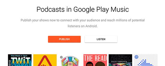 Publish Google Podcast