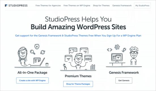 StudioPress Genesis Theme Framwork