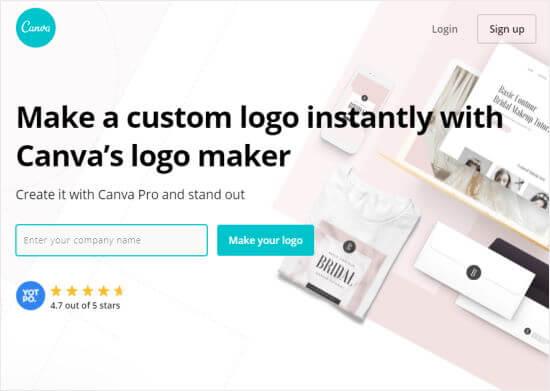 Canva Pro logo maker