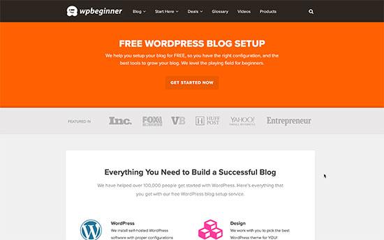 Free blog setup and migration