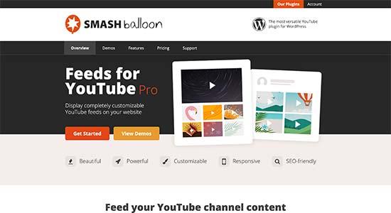 Smash Balloon YouTube Feeds